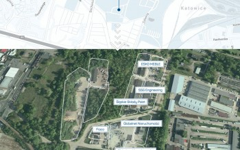 Metropolis-Katowice-Bochenskiego-Mapa